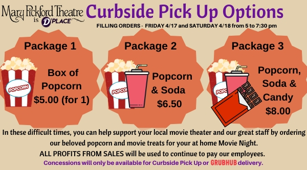 Curbside Pickup Popcorn